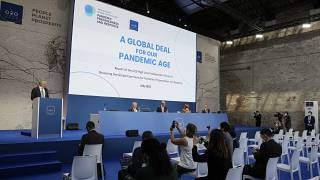 Una reunión de ministros de Finanzas y gobernadores de bancos centrales del G20 en Venecia, Italia, el 9 de julio de 2021.