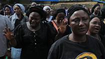 Members of the Baptist community comfort families of 121 students kidnapped in Nigeria