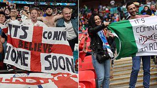 Engliche und italienische Fans sind sich sicher