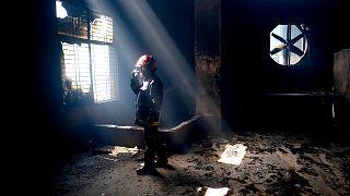 آتشسوزی در کارخانهای در بنگلادش