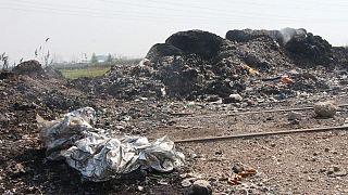 Adana'da ithal plastik atıklar