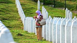 Friedhof in Potocari nahe Srebrenica