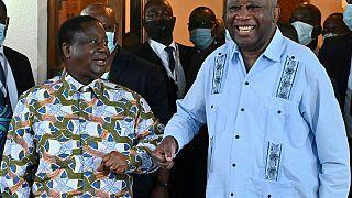 À Daoukro, réconciliation entre Laurent Gbagbo et Henri Konan Bédié