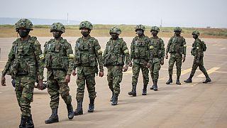 Arrivée des soldats rwandais dans le nord du Mozambique