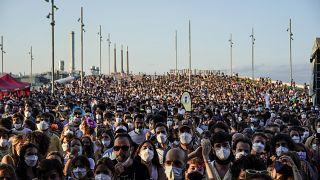 Festival Cruïlla reúne dezenas de milhares de pessoas em Barcelona