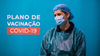 Vacinação em Portugal está acima da média europeia
