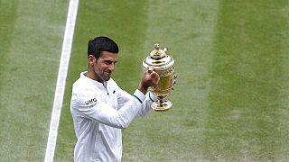 À 34 ans, le Serbe a remporté 9 Open d'Australie, 2 Roland-Garros, 6 Wimbledon et 3 US Open.