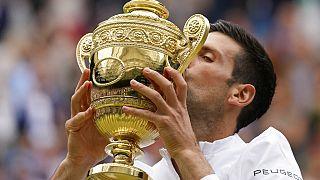 Tennis: Novak Djokovic in Wimbledon