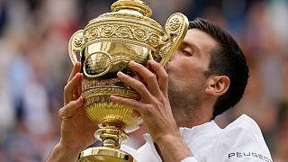 """ديوكوفيتش على بُعد لقب واحد من أن يصبح ثالث لاعب في التاريخ يفوز بجميع ألقاب """"غراند سلام"""" في عام واحد"""