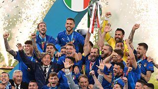 L'équipe italienne, championne d'Europe
