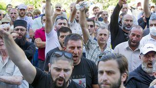 LGBT karşıtı göstericiler - Gürcistan