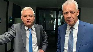 RTL-Moderatoren Andreas von Thien und Peter Kloeppel