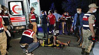 Al menos doce migrantes muertos en un accidente de microbús en Turquía