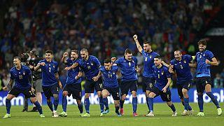 Die Elf auf Italien in Wembley beim Elfmeter-Krimi