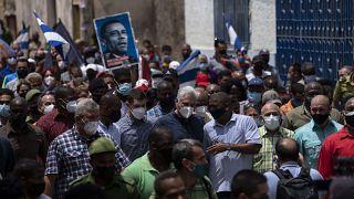 مظاهرات في كوبا
