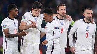 Euro 2020 final maçı sonrası İngiliz takım