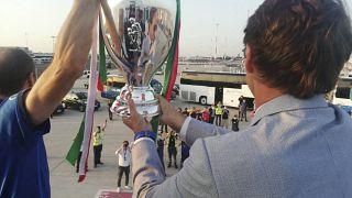 Домой с трофеем