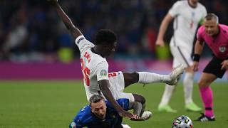 England FA, PM condemn racist abuse of Black players
