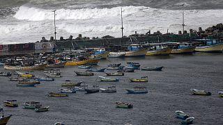 سواحل الصيد في غزة