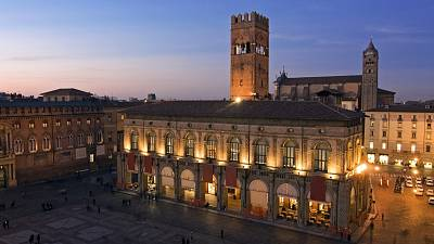 Bologna's porticoes were first built in the 11th century