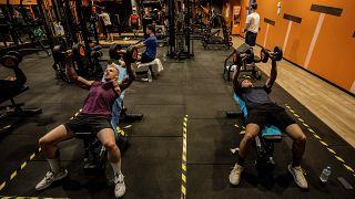 Spor salonlarında alının Covid-19 önlemleri