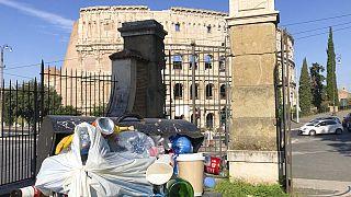 Müllkrise in Rom: Ratten und unerträglicher Gestank bei 30°