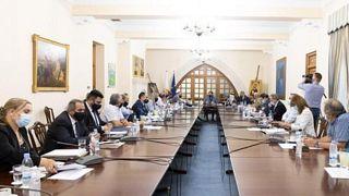 Σύσκεψη στο Προεδρικό
