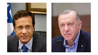 روسای جمهوری ترکیه و اسرائیل