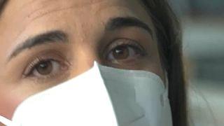Andrea, transplantada de hígado