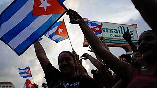 Küba'da protestolar