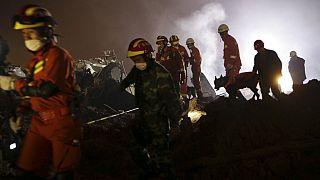 Κατάρρευση ξενοδοχείου στην Κίνα