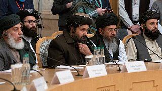 Taliban delegasyonu Rusya'daki barış görüşmelerinde / Arşiv