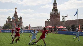 Турнир на Красной площади во время ЧМ по футболу 2018 года