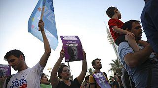 Manifestación LGTBI en Israel