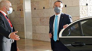 Greek Finance Minister Christos Staikouras