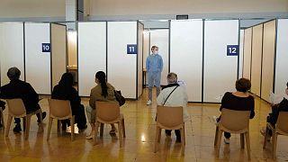 Fransa'da aşı merkezi