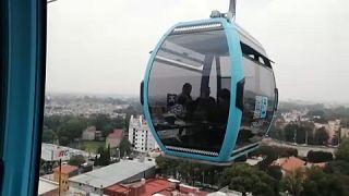 El nuevo teleférico de la capital mexicana