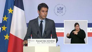 المتحدث باسم الحكومة الفرنسية غابرييل أتال