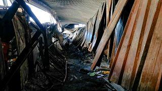 غضب ويأس عقب حريق مأسوي في مستشفى جنوب العراق