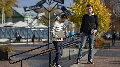 Benoît Gufflet and Dimitri Kremp, the pair behind the Across the Blocks research on smart cities.
