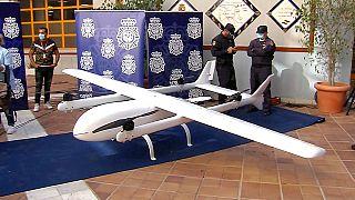 El dron capturado