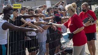 ithuania has declared a state of emergency due to an influx of migrants from neighbouring Belarus.