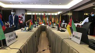 Arranque da Cimeira da CPLP em Luanda, Angola