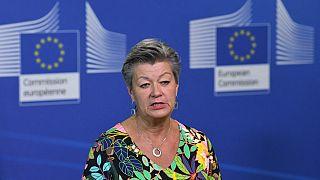 Avrupa Birliği (AB) İçişleri Komiseri Ylva Johansson