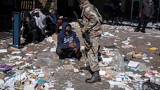 South African police call for end to violent riots as death toll climbs to over 70
