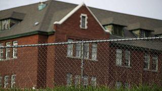 Az egyik hírhedt múltú bentlakásos iskola épülete Kanadában