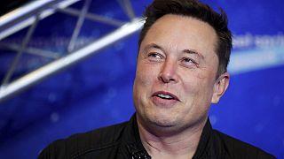 Elon Musk egy berlini eseményen