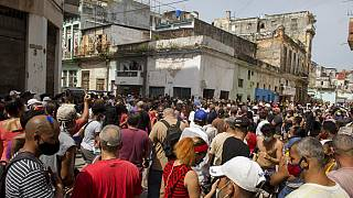 Seltene Proteste in Kuba
