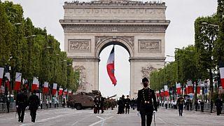 14 Temmuz Bastille Günü geçit töreni