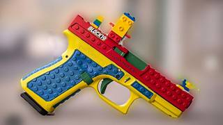 Nem játék, hanem valódi fegyver a LEGO kinézetű Block 19